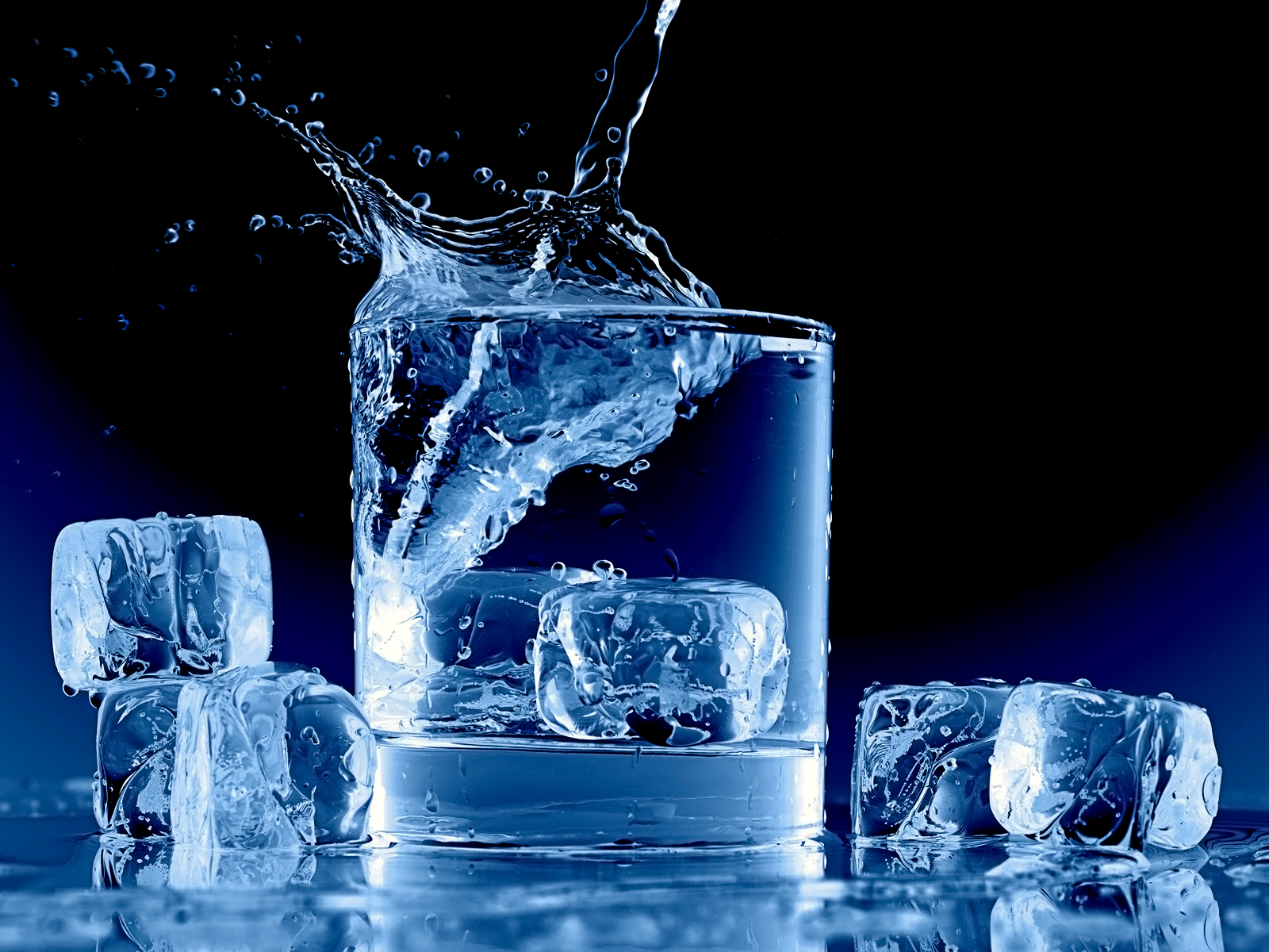 Chewing ice is bad for your teeth.